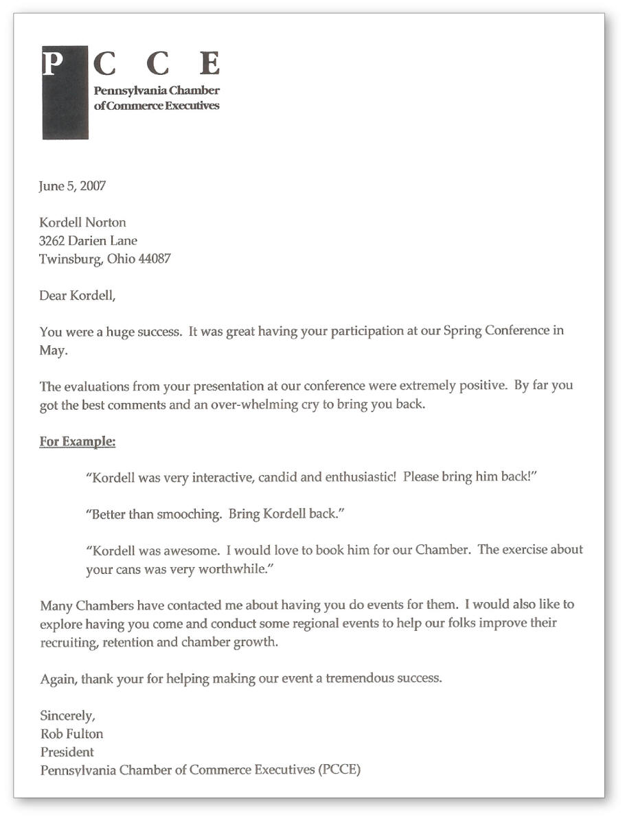 recommendation letter to attend a conference - Monza berglauf