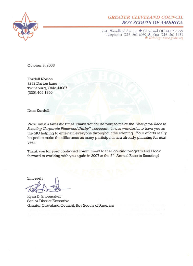 need help writing a letter of recommendation for an eagle scout